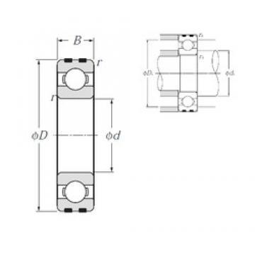NTN EC-6300 deep groove ball bearings