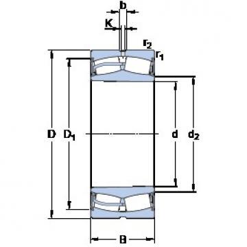 SKF 22232-2CS5K/VT143 spherical roller bearings