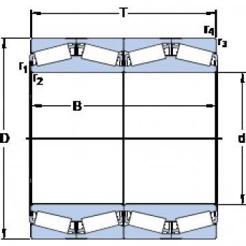 SKF BT4B 331968 BG/HA1 tapered roller bearings