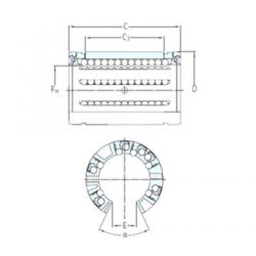 SKF LBCT 40 A linear bearings