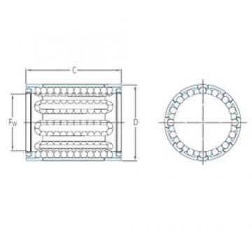 SKF LBBR 6A/HV6 linear bearings