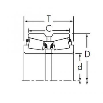 Timken 2581/2524YD tapered roller bearings