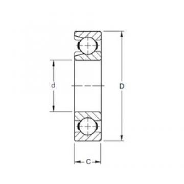 Timken 356W deep groove ball bearings