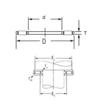 Timken AXK1024 needle roller bearings