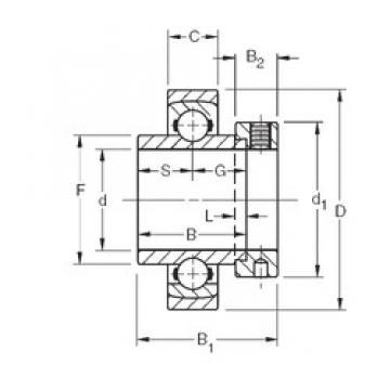 Timken SMN303KS deep groove ball bearings