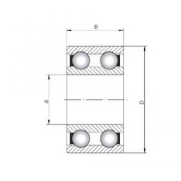ISO 4216 deep groove ball bearings