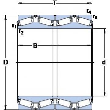 SKF BT4B 328204/HA1 tapered roller bearings