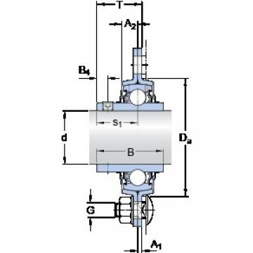SKF PF 1.3/4 TR bearing units