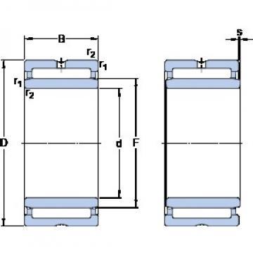 SKF NA 4905 cylindrical roller bearings
