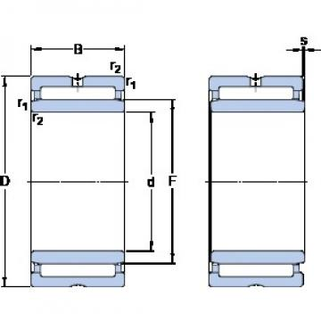 SKF NA 4911 cylindrical roller bearings