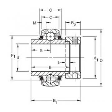 Timken G1105KPPB2 deep groove ball bearings