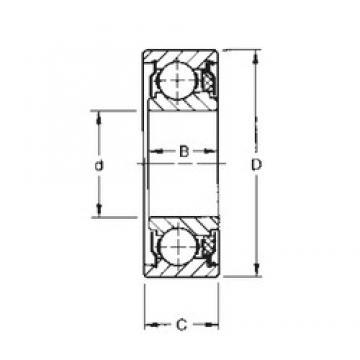 Timken 207KTD deep groove ball bearings