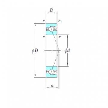 KOYO HAR018CA angular contact ball bearings