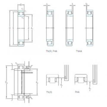 SKF N 1017 KTN9/SP cylindrical roller bearings