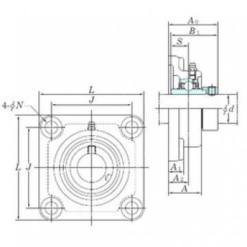 KOYO NANF212-38 bearing units