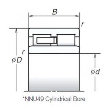 NSK NNU4926MB cylindrical roller bearings