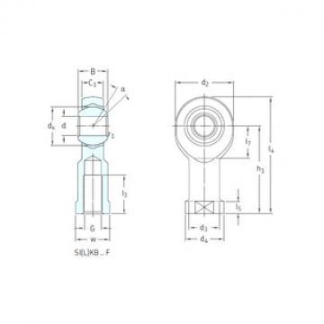 SKF SIKB14F plain bearings
