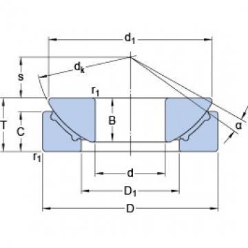 SKF GX 20 F plain bearings