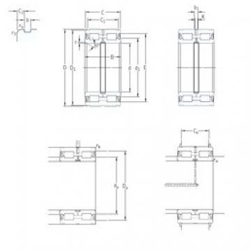 SKF NNF5022ADA-2LSV cylindrical roller bearings