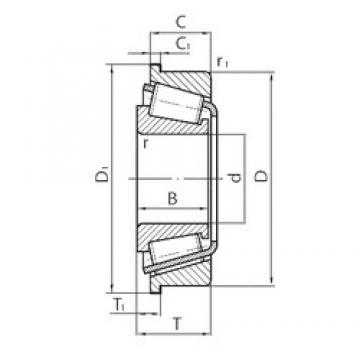 Timken NP881387/NP304907 tapered roller bearings