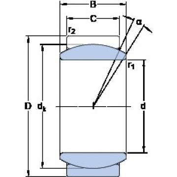 SKF GE 10 E plain bearings