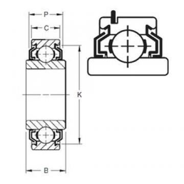 Timken 209KLLG deep groove ball bearings