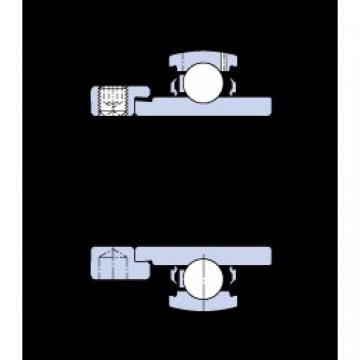 SKF YEL 204-2F deep groove ball bearings