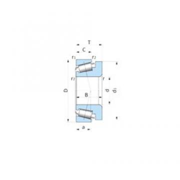 SKF BT1-0222A/QVA621 tapered roller bearings