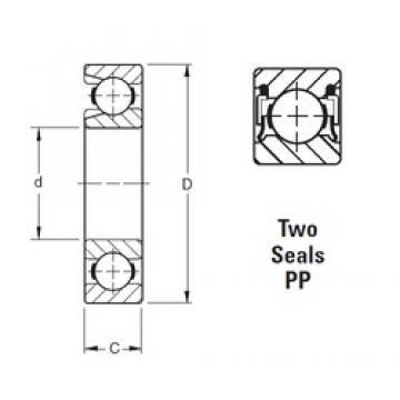 Timken 213WNPP deep groove ball bearings