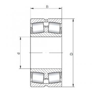 ISO 21311W33 spherical roller bearings