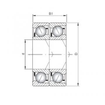 ISO 7001 BDT angular contact ball bearings