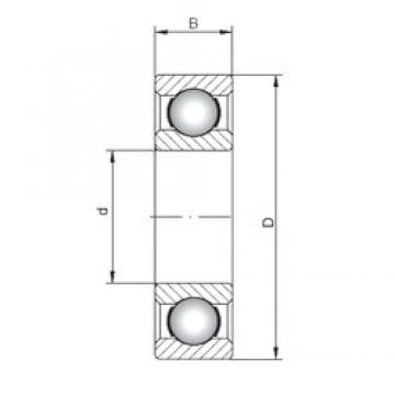 ISO 6280 deep groove ball bearings