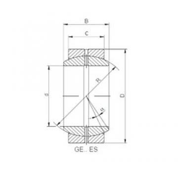 ISO GE 560 ES plain bearings