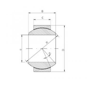 ISO GE60FW-2RS plain bearings