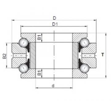 ISO 234438 thrust ball bearings