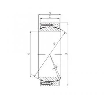 ISO GE 380 QCR plain bearings