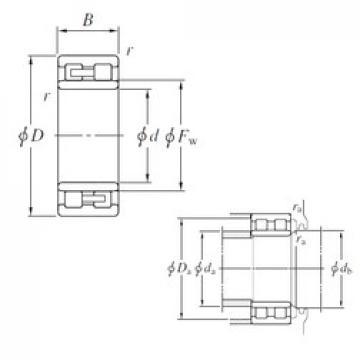 KOYO NNU4972 cylindrical roller bearings