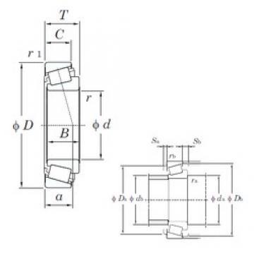 KOYO HI-CAP ST2850 /L45410-9YA1 tapered roller bearings