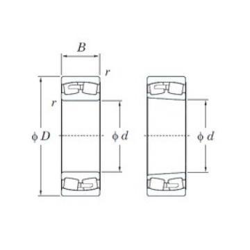 KOYO 23076RK spherical roller bearings