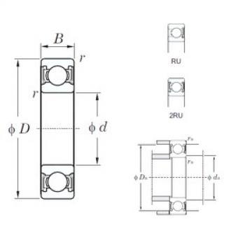 KOYO 6922-2RU deep groove ball bearings