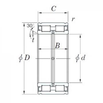KOYO DC5018N cylindrical roller bearings