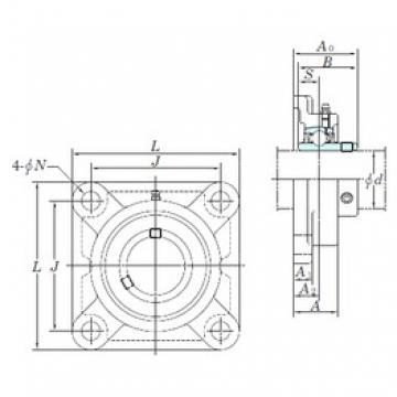 KOYO UCF207-22 bearing units