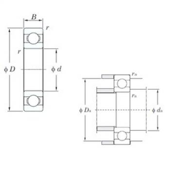 KOYO 6804 deep groove ball bearings