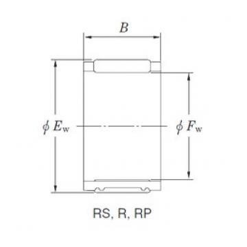 KOYO RP222823A needle roller bearings