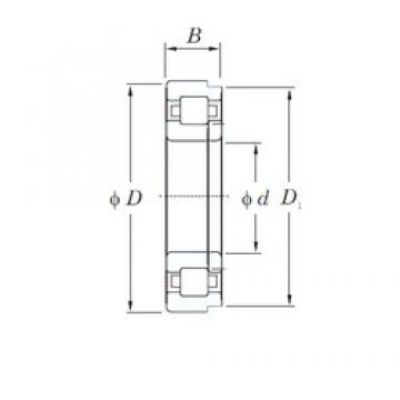 KOYO NUP226R cylindrical roller bearings