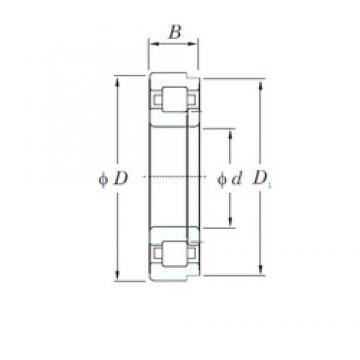 KOYO NUP418 cylindrical roller bearings