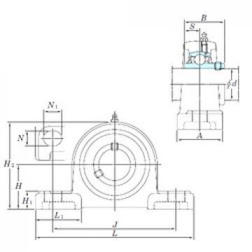 KOYO UCP217-52SC bearing units