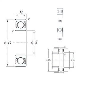 KOYO 6911-2RD deep groove ball bearings