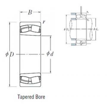 NSK 22232CDKE4 spherical roller bearings