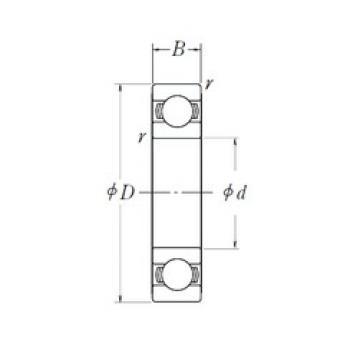 NSK 6206L11-H-20DDU deep groove ball bearings
